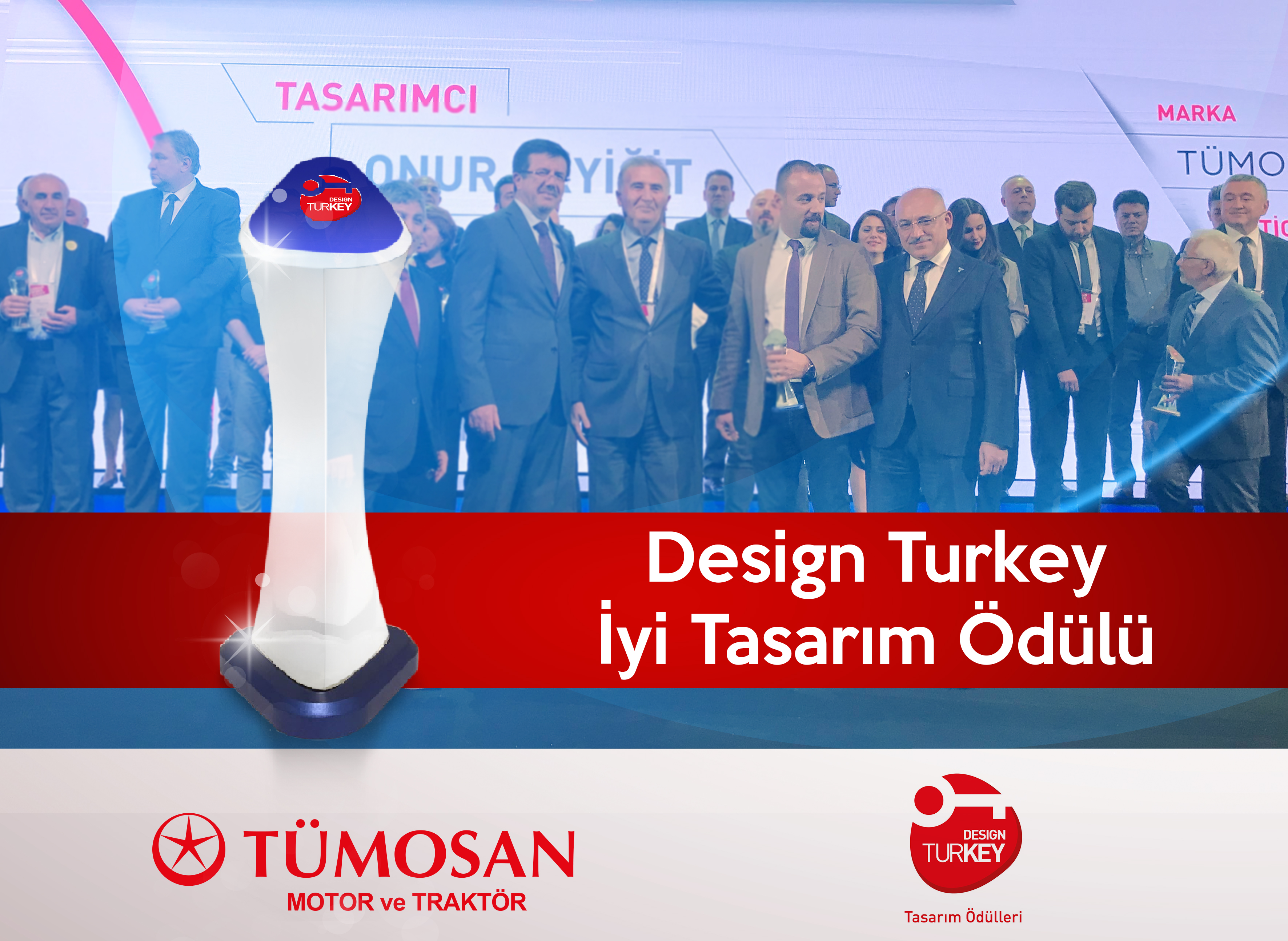 The Best Design Award Goes to the TÜMOSAN Tractors